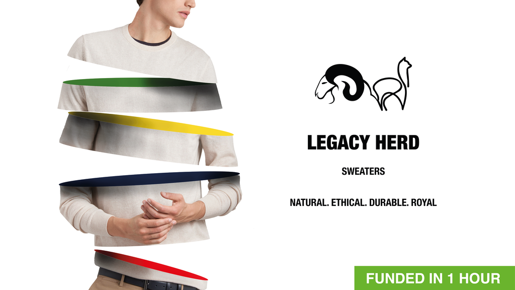 Royal Alpaca- Merino Blend Sweaters | The Legacy Herd