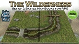 The Wilderness Books of Modular Maps for Tabletop Roleplay. thumbnail