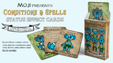 Deck of Moji Condition & Spell Cards for 5e & TTRPGs! thumbnail