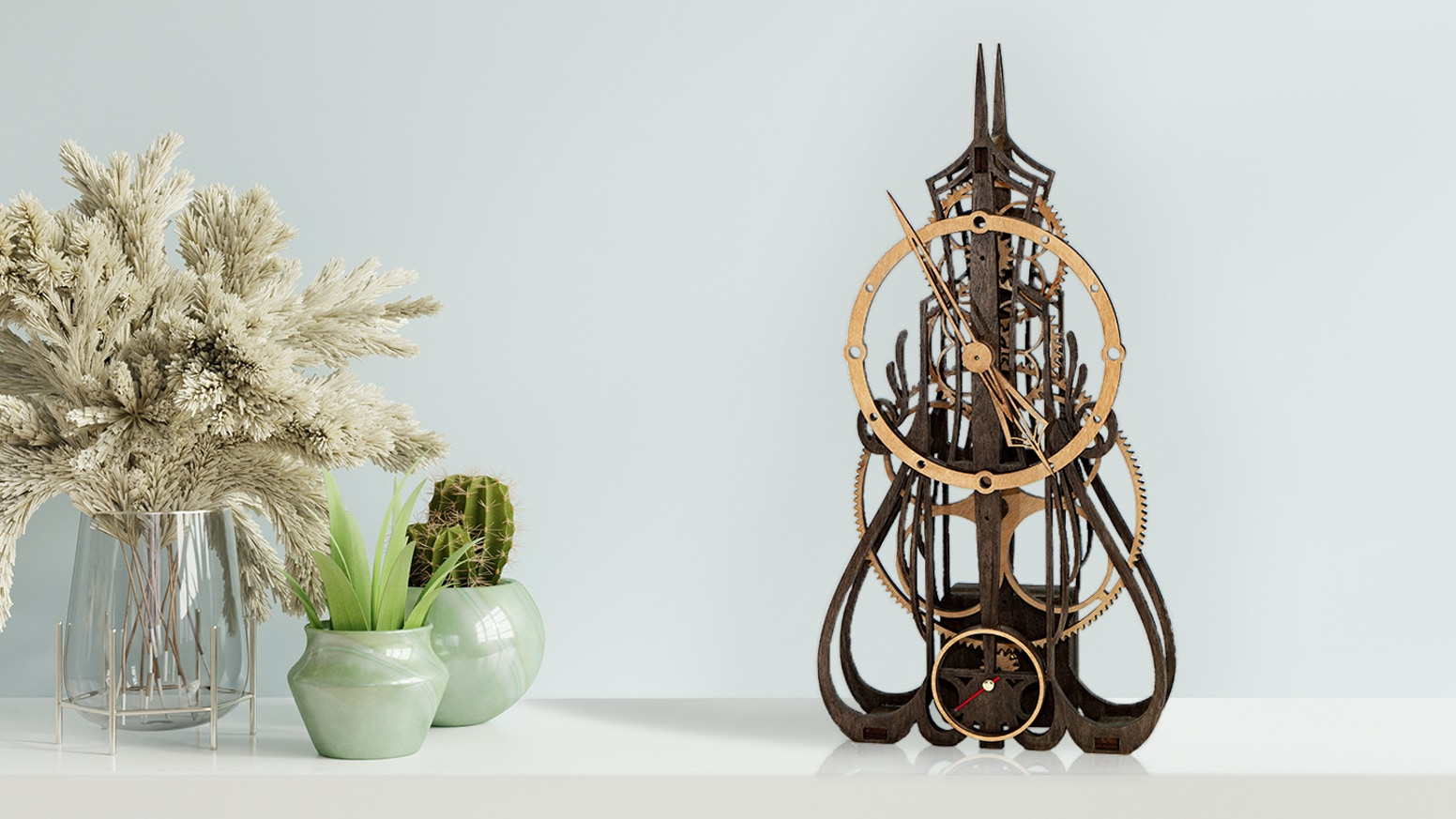 烏克蘭 3D 手作 DIY 木製時鐘 MadClockMaker