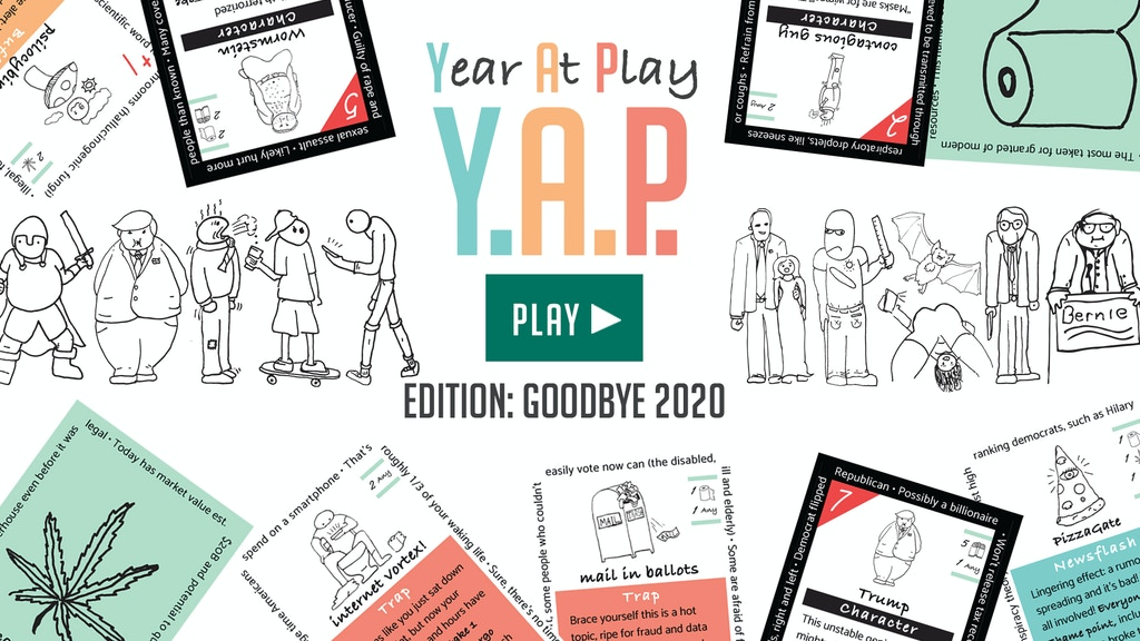 Year At Play (edition: Goodbye 2020)