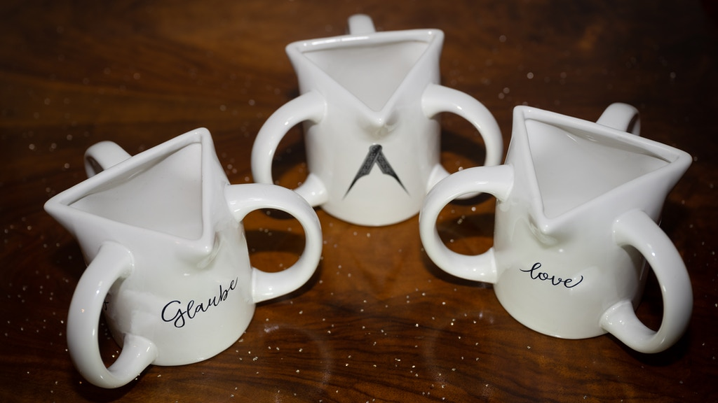 The triplex mug - a unique symbol for Christians & Freemason