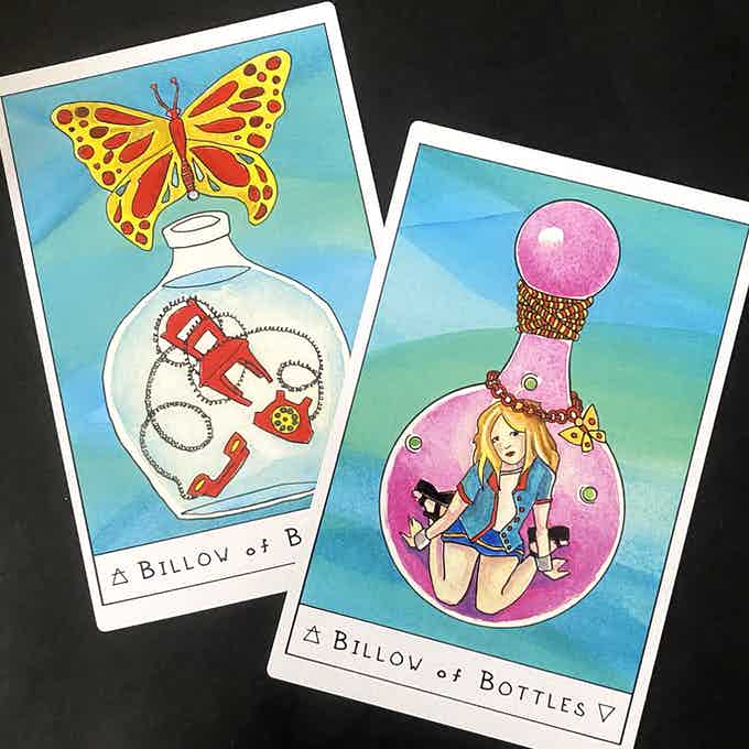 Includes special Britney version of the Billow of Bottles!