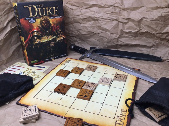Centurion Kickstarter Almost Pledged Board