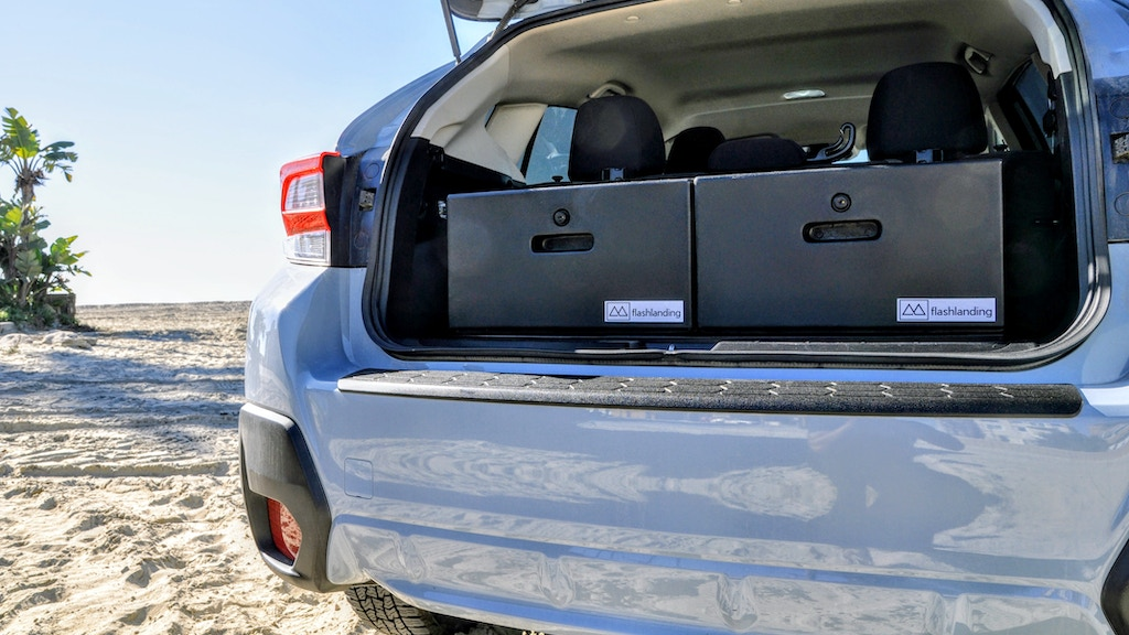 The GLIDE Vehicle Drawer System by Flashlanding