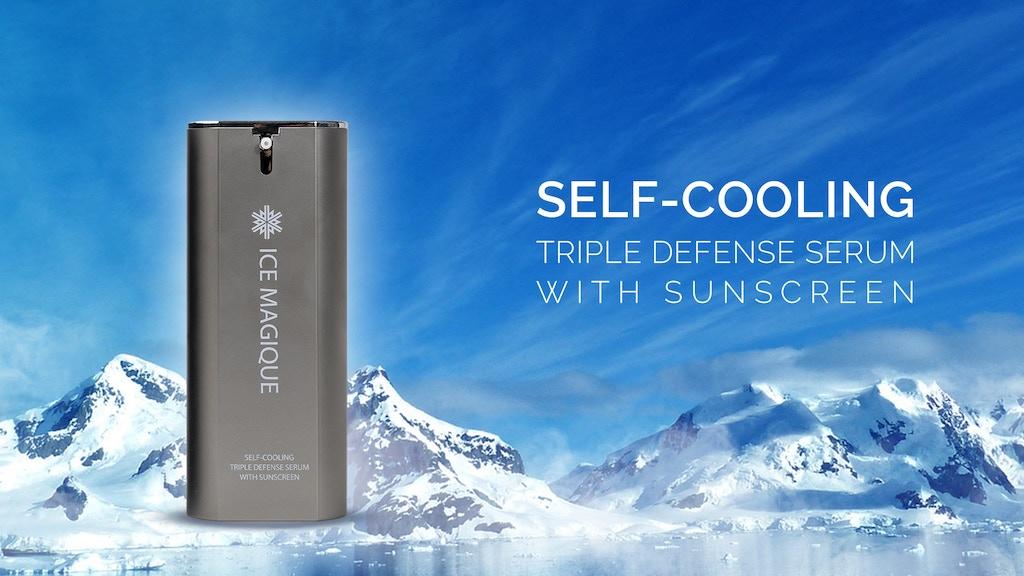 ICE MAGIQUE : Self-Cooling Triple Defense Sunserum