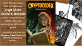 Cryptocodex, critters for your apocalyptic aftermath game thumbnail