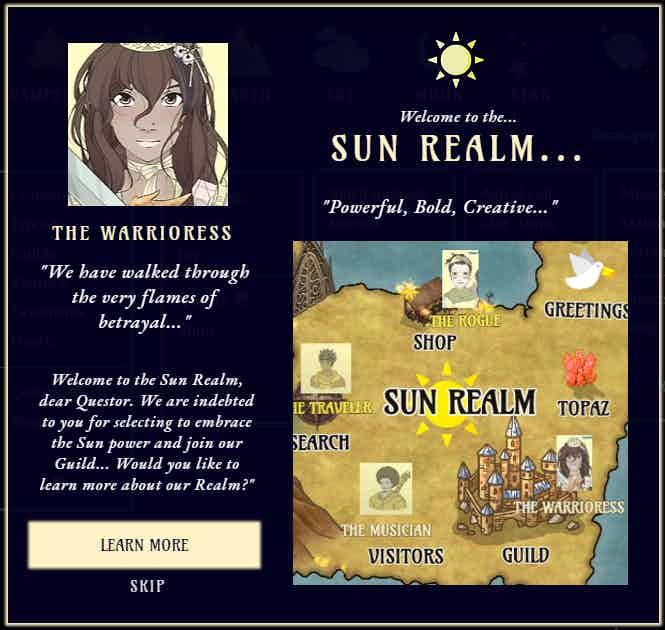 Sun Realm - Welcome