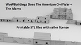 WoW Does American Civil War + The Alamo Terrain Scenery thumbnail