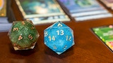 Make 100: Dragon Soul Dice (Swirly, Liquid Core, Spindowns) thumbnail