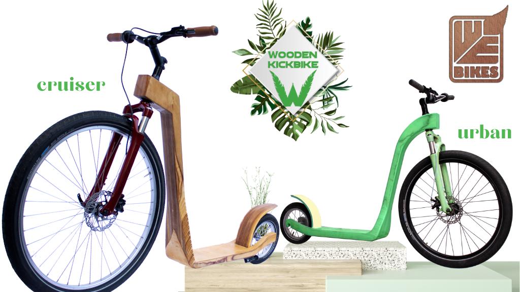 WE Bikes – Elegant, Eco-Friendly Wooden Kick bikes