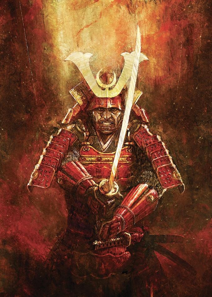 Centurion Kickstarter Almost Pledged Shogun Daimyo Cover