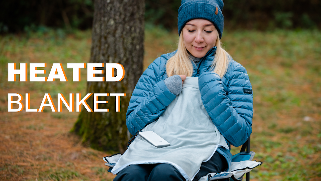 FLEXTAILGEAR |The All-In-One Multifunctional HEATED BLANKET