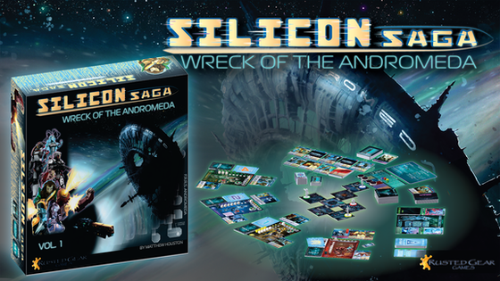 Silicon Saga: Wreck of the Andromeda board game