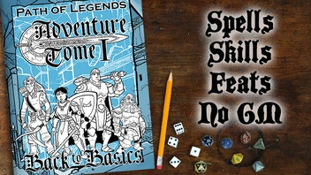 Path of Legends Adventure Tome 1 - Back to Basics