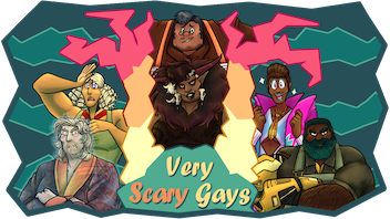 Very Scary Gays: An Unhinged Visual Novel