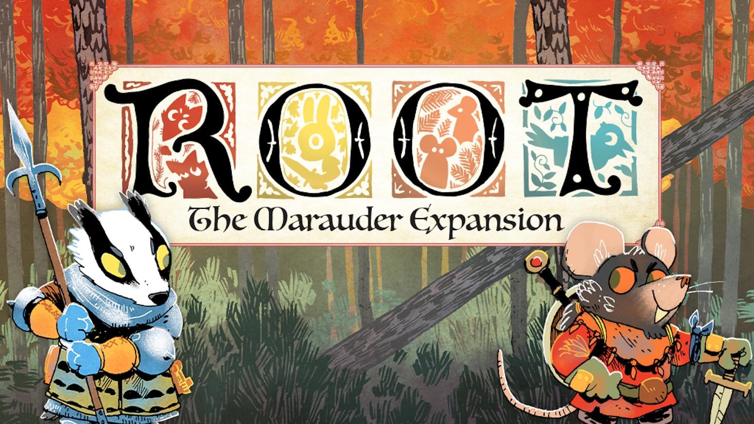 Root: Marauder Expansion Kickstarter