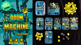 DOOM MACHINE: A Mint Tin Card + Dice SOLO Game thumbnail