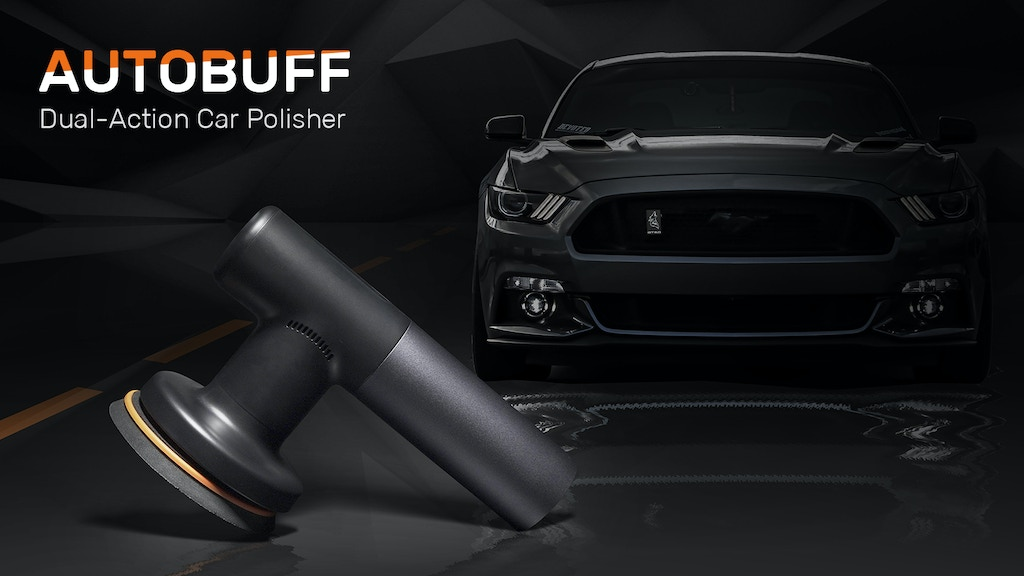 AutoBuff: Handy Cordless Car Polisher for DIY Showroom Shine