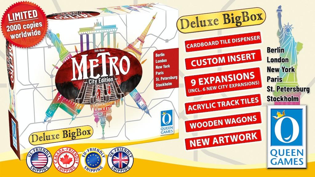 Metro - Deluxe Big Box - City Edition