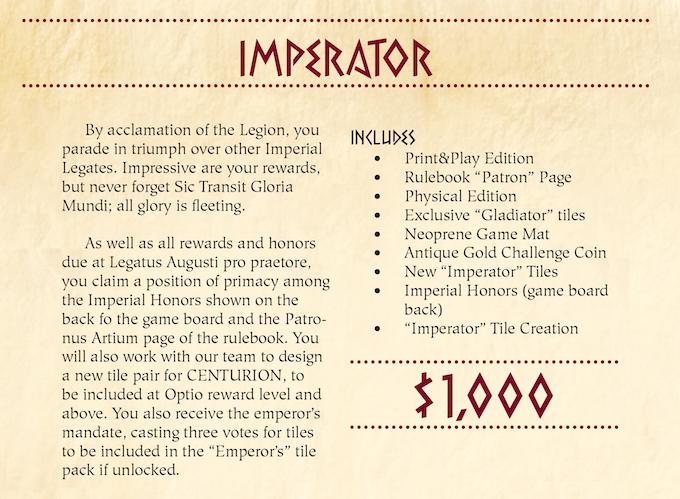 Centurion Kickstarter Almost Pledged