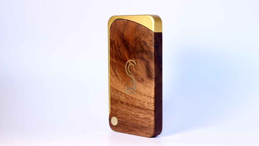 A truly beautiful wooden wallet