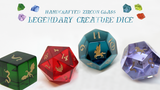 Handcrafted Zircon Glass Legendary Creature Dice thumbnail