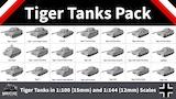 Tiger Tanks Pack From Miniature Tanks Company thumbnail