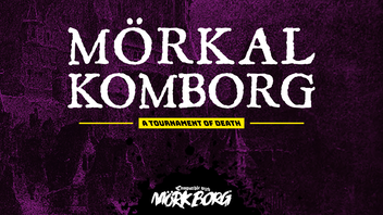MÖRKAL KOMBORG: A Tournament of Death for MÖRK BORG RPG