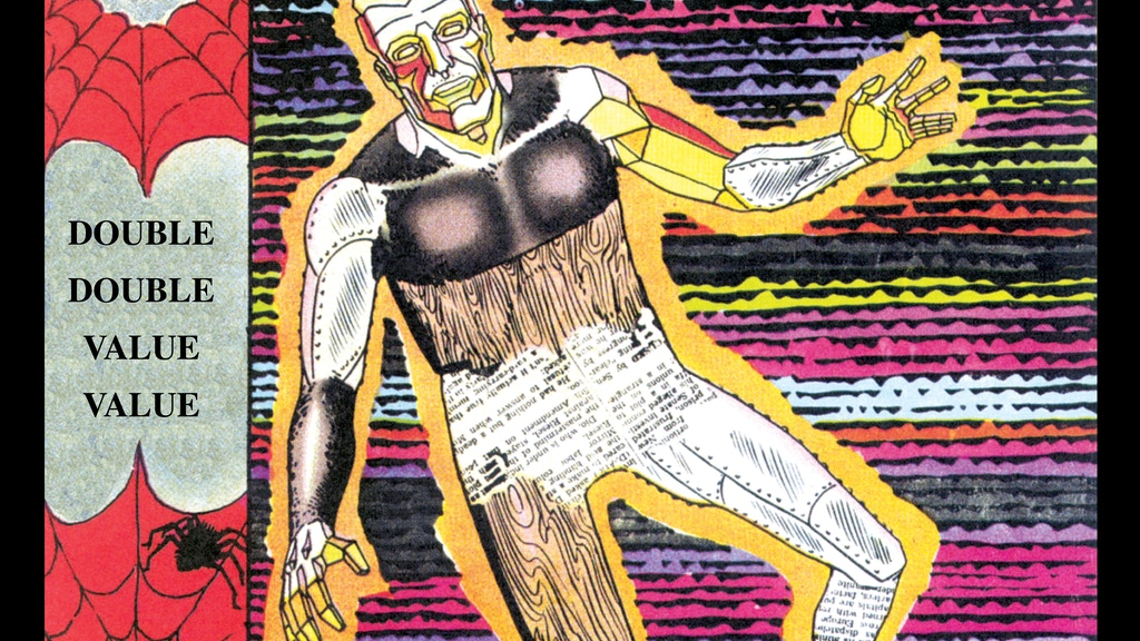 Project image for OUT OF THIS WORLD by Snyder and Ditko