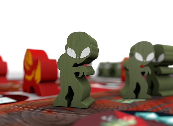 Meeples de Alien