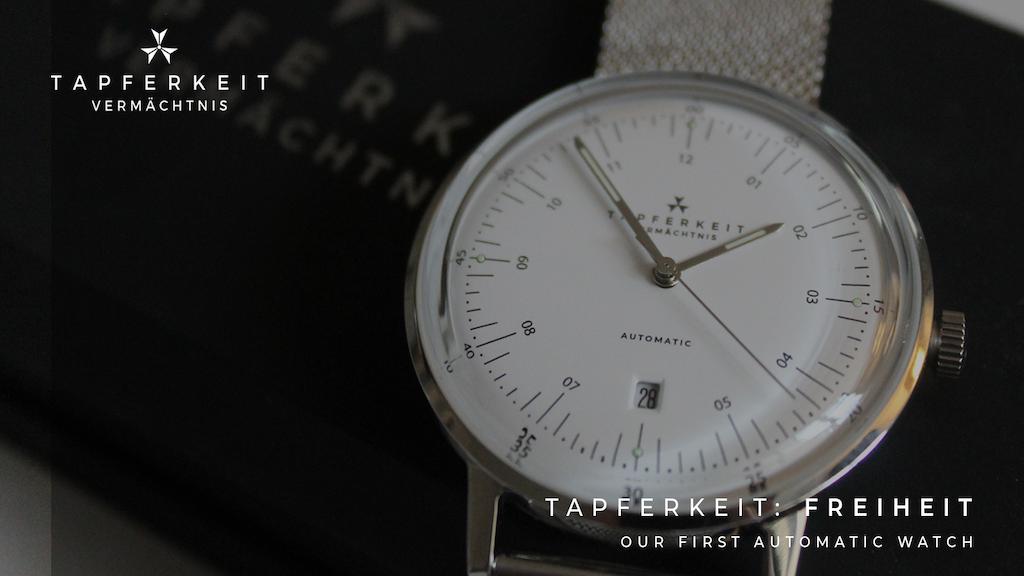 TAPFERKEIT Freiheit Automatic - Bauhaus Inspired Watch