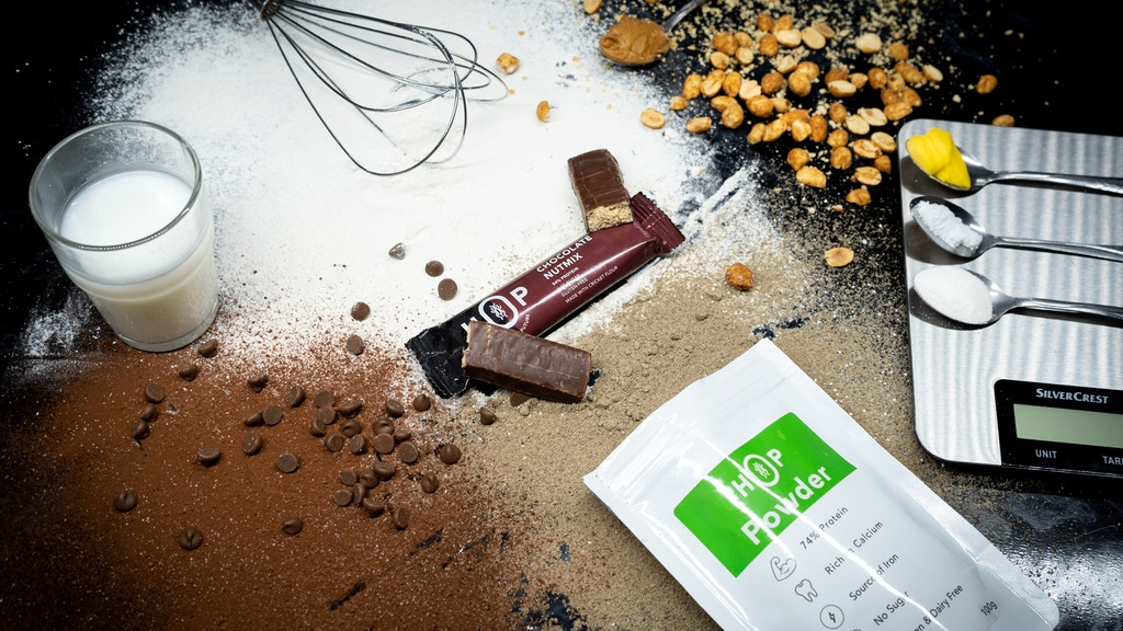 HOP®! Sustainable Protein Bars made with Crickets