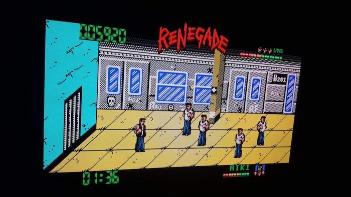 Target: Renegade – ZX Spectrum Next
