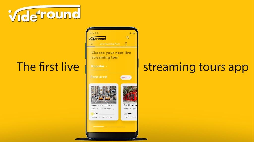 VIDEROUND app
