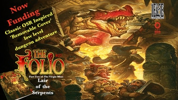 Folio #27 Lair of the Serpents Gaming Adventure!