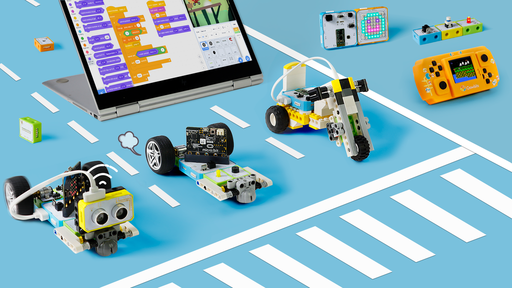 Crowbits – Electronic Blocks for STEM Education at Any Level
