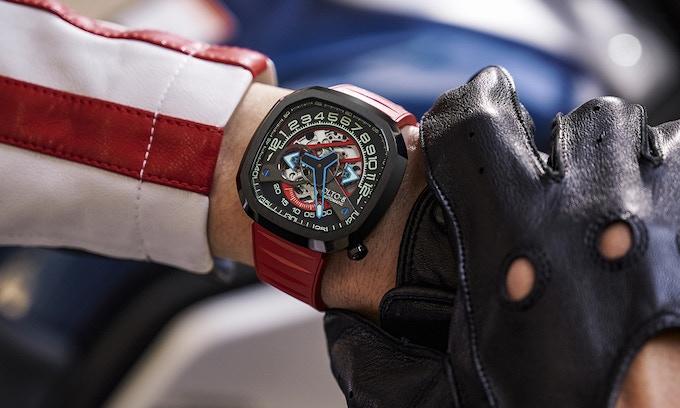 OLTO-8 復古賽車手錶 INFINITY Ⅱ