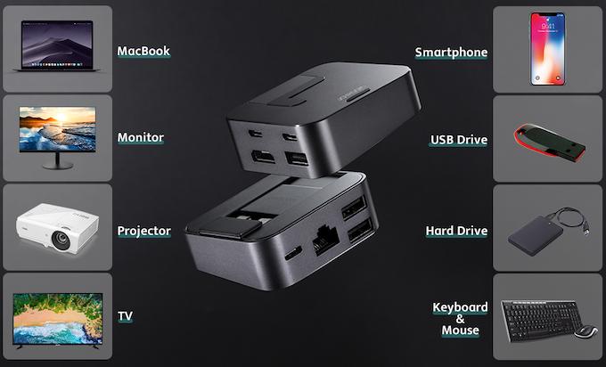 J-Cube 史上最輕巧八合一MacBook支架