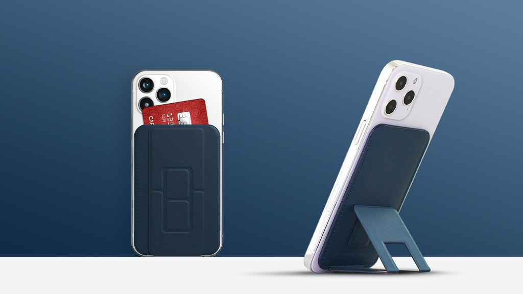 MagHolder: A Magnetic Wallet Stand for iPhone 12 & Much More