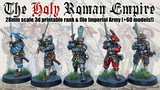 The Holy Roman Empire: 3d printable 28mm miniatures. thumbnail
