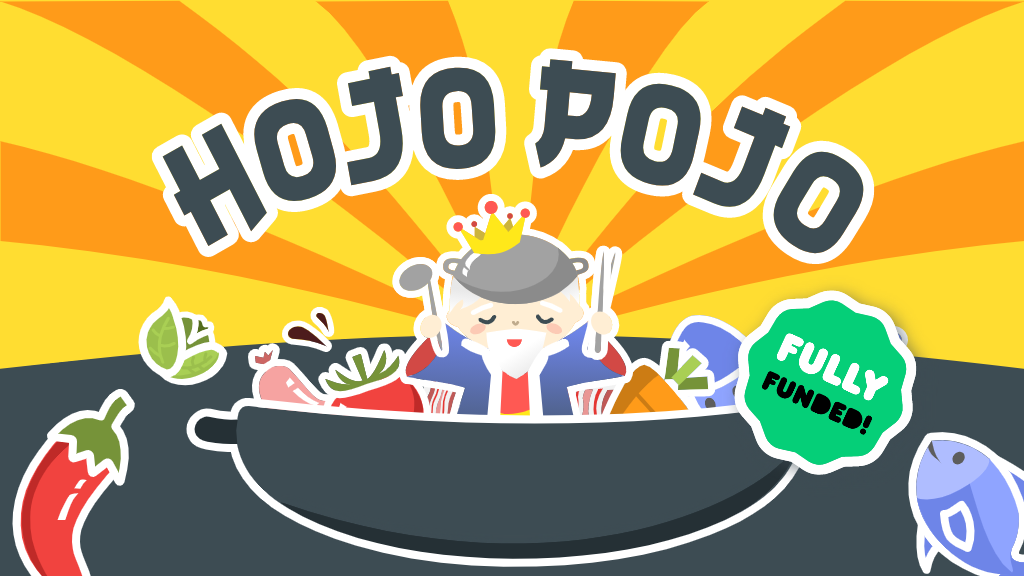 Hojo Pojo: The Awesomely-Delicious Hot Pot Themed Card Game