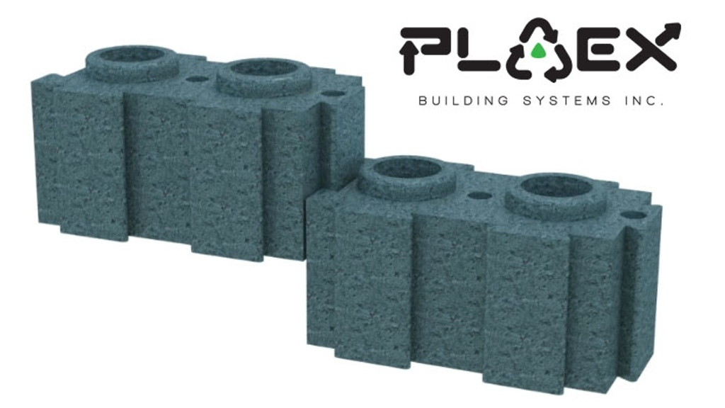 PLAEX Bricks: Building a Better Future from Yesterdays Waste