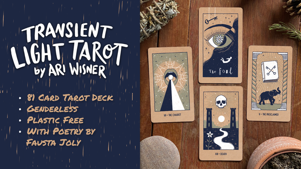 Transient Light Indie Tarot Deck - 81 cards project video thumbnail