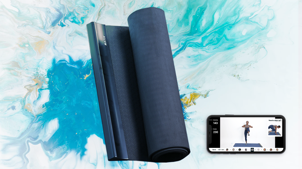 Stay Active On MATIV, The Ultimate Interactive Workout Mat