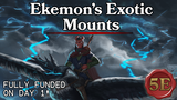 Ekemon's Exotic Mounts | A 5e Compatible Supplement thumbnail