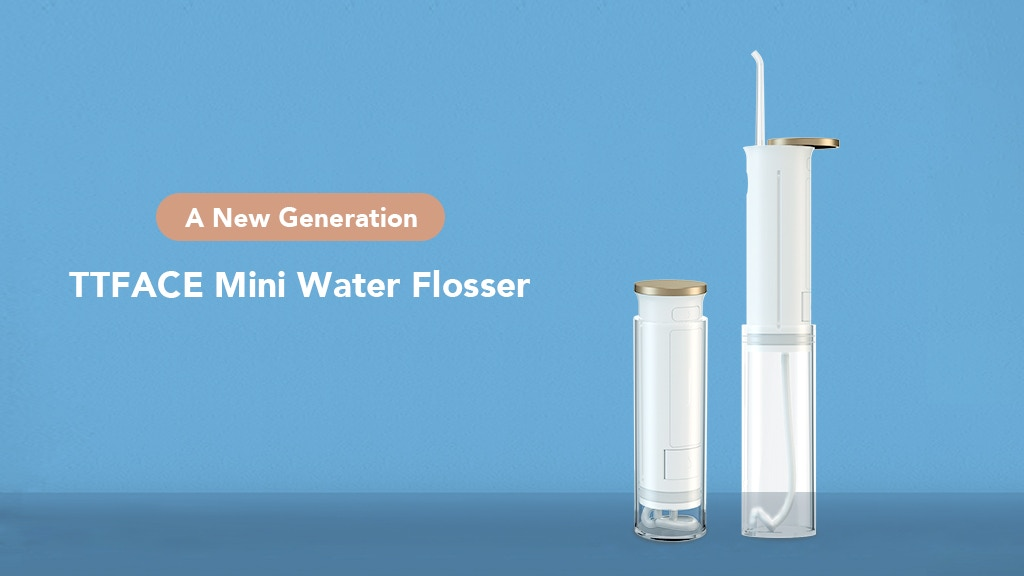 TTFACE: The Most Effective Mini Smart Water Flosser
