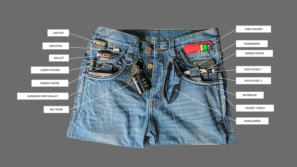 IGO ADVENTURE JEANS - FOR PEOPLE ON THE MOVE
