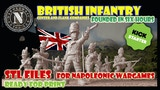 British infantry center and flank companies thumbnail