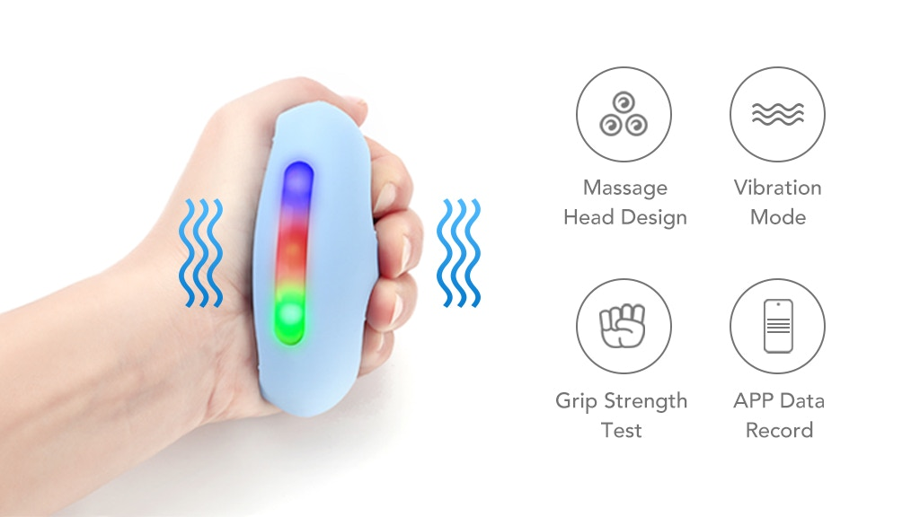 Yleegs - A smart Hand Grip Trainer with Massage Function